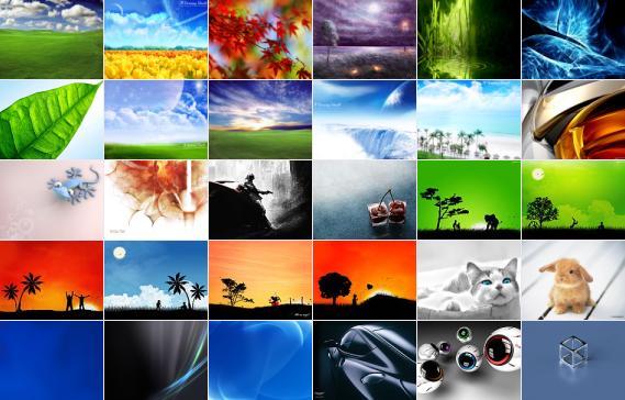 مجموعه ای زیبا از تصاویر پس زمینه (سری اول) برای ویندوز XP